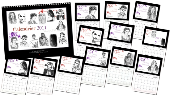 Calendrier 2011 starts