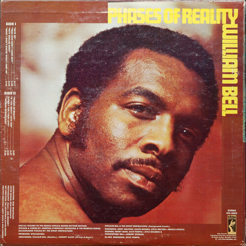 """William Bell : Album """" Phases Of Reality """" Stax Records STS 3005 [ US ]"""