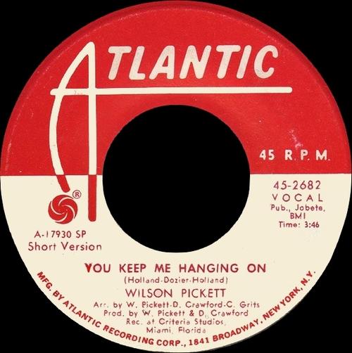 """Wilson Pickett : Album """" Right On """" Atlantic Records SD 8250 [ US ]"""