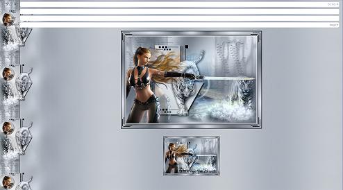 Papier Fantasy Amazone 04