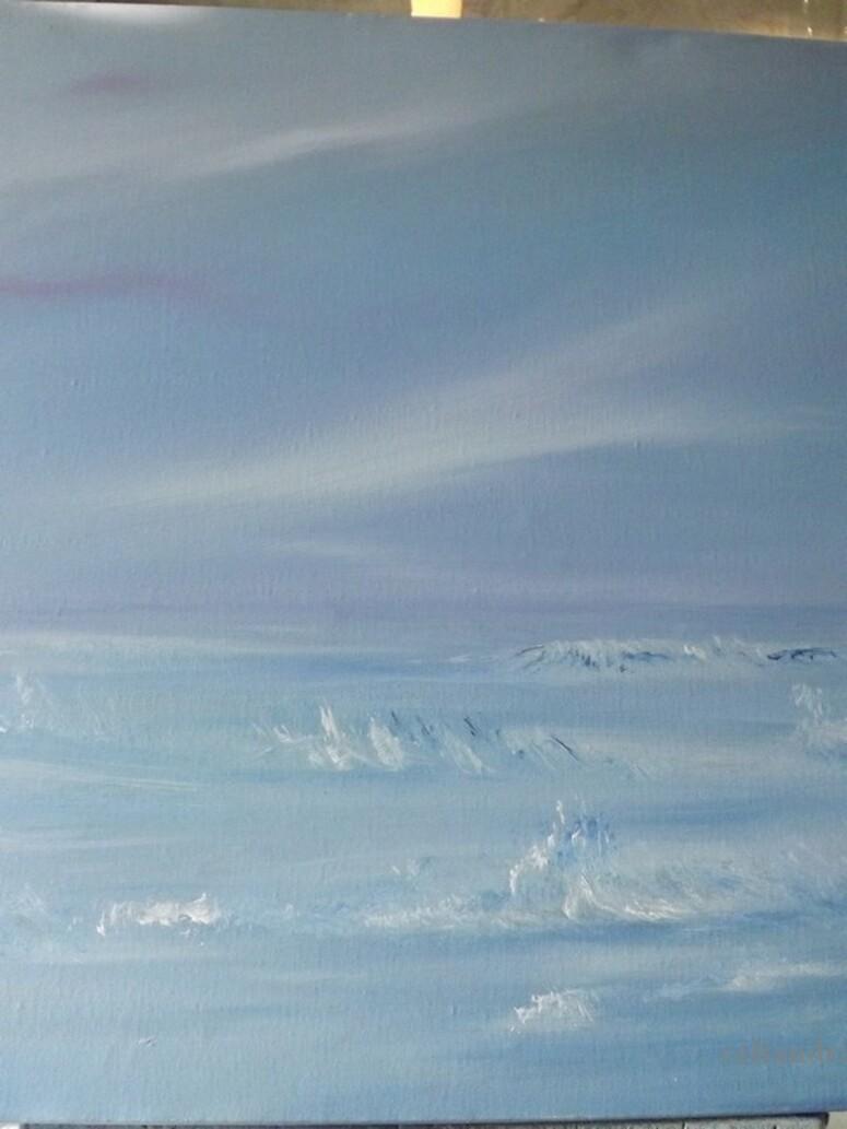 Peinture: Ciel et mer