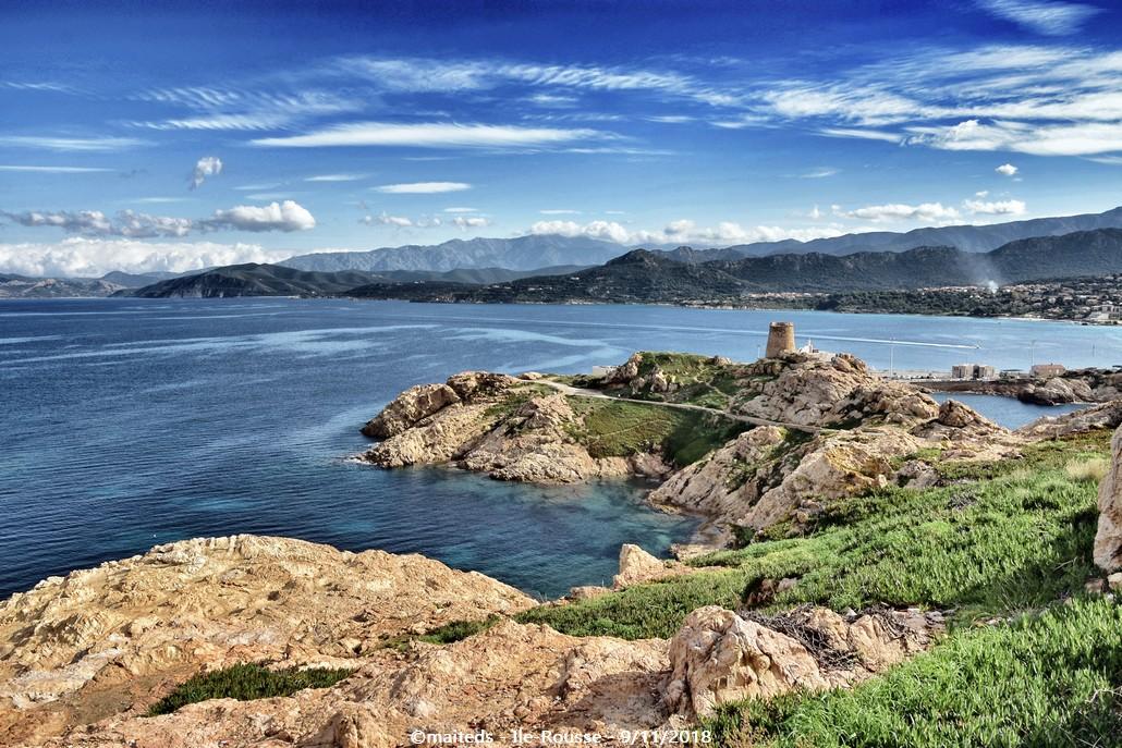 Île de la Pietra - Île-Rousse - Corse