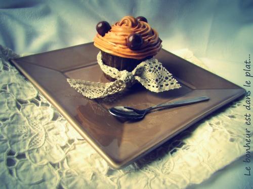 Cupcake carambar et kitkat ball