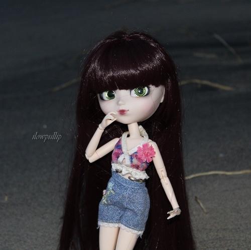 Luna à la plage
