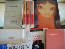 Lire beaucoup de poèmes français