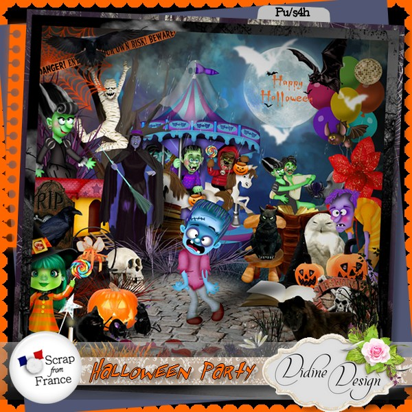 Halloween Party by Didine Design