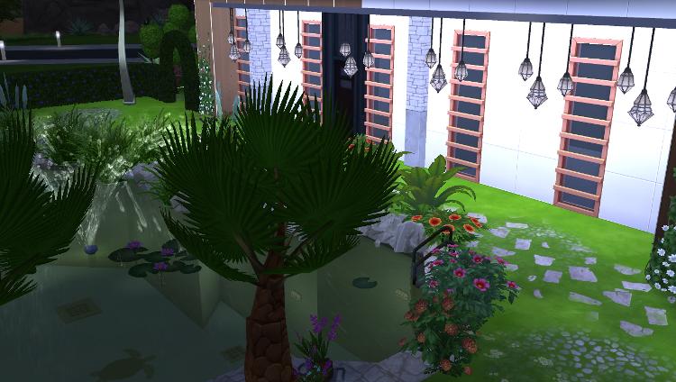 Sims 4 : La villa Pomme-Cannelle