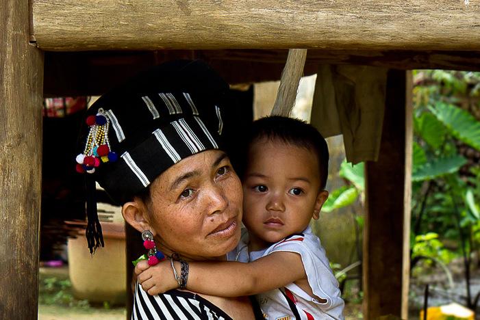 Ethnie Lu vers Lai Chau