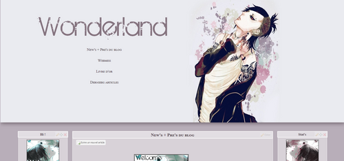 Thème #2 Wonderland