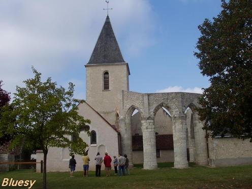Eglise de Courcelles -45 -Région Centre