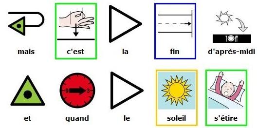Karaoké en pictogrammes Arasaac : Grand Corps Malade et Francis Cabrel - La Traversée