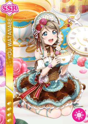 #1131 Watanabe You SSR idolized