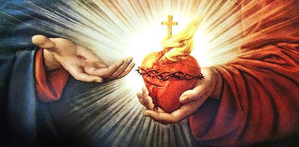 Résultats de recherche d'images pour «coeur de jésus brulant d'amour»