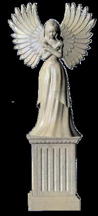 """Tubes : statues thème """" femmes anges"""""""