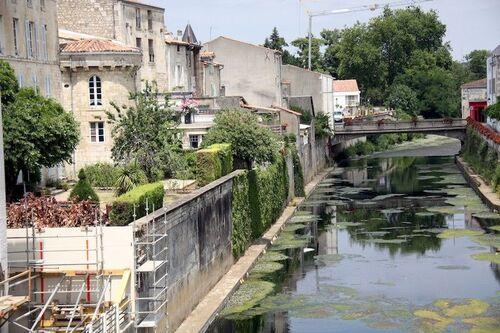 Une vue sur le vieux Fontenay-le-Comte
