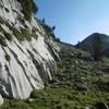 Progression Est-Nord-Est face au pico de Arlas