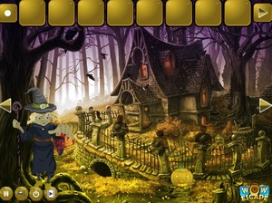 Jouer à Halloween witch forest escape