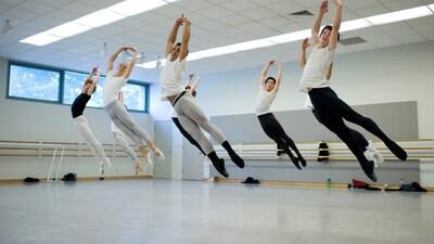dance ballet class performance studio