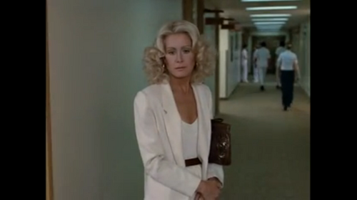 "Joan Van Ark et William Devane dans"" Red Flag:The Ultimate Game"""
