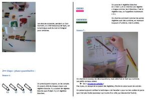 Travailler le concept de nombre avec les réglettes cuisenaires