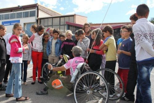 Photo du jour: tour de l'aude handisport septembre 2012