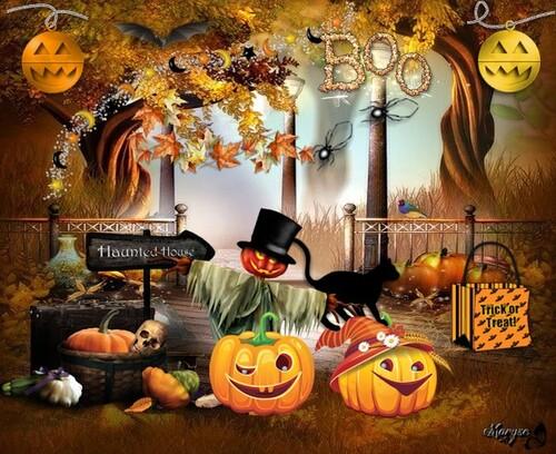 Fond pour halloween