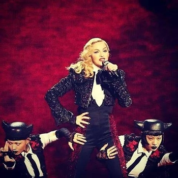 Madonna Live at Brit Awards 2015 02 25 - Living For Love (4)