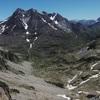 Du sommet du pico de Lavaza Oriental (2764 m), le massif du Vignemale