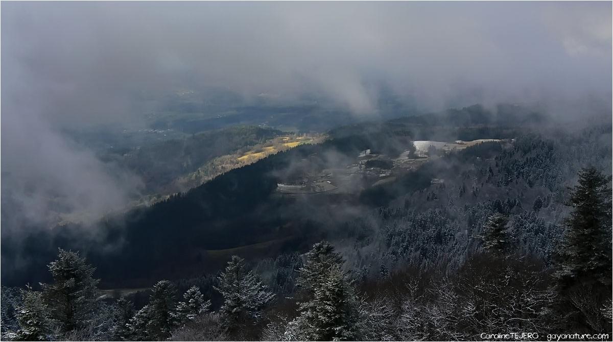 Auvergne: Col de la Chamboite