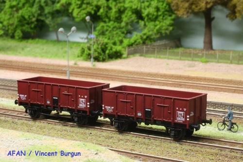 Tombereaux OCEM 29 Trains160 / REE Modèles : les prototypes