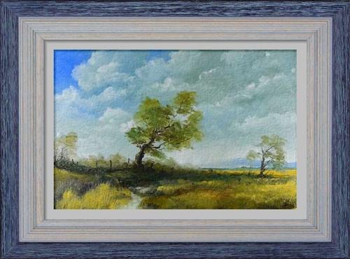 Dessin et peinture - vidéo 3020 / Comment peindre un ciel orageux ? - huile ou acrylique.