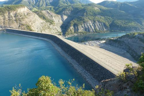 Barrage de Serre-Ponçon :