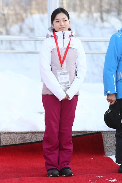Akiko au ski