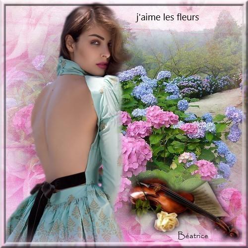 """Défi Georgette """"J'aime Les Fleurs"""""""