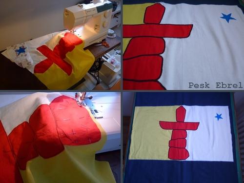 Le drapeau - Pesk Ebrel