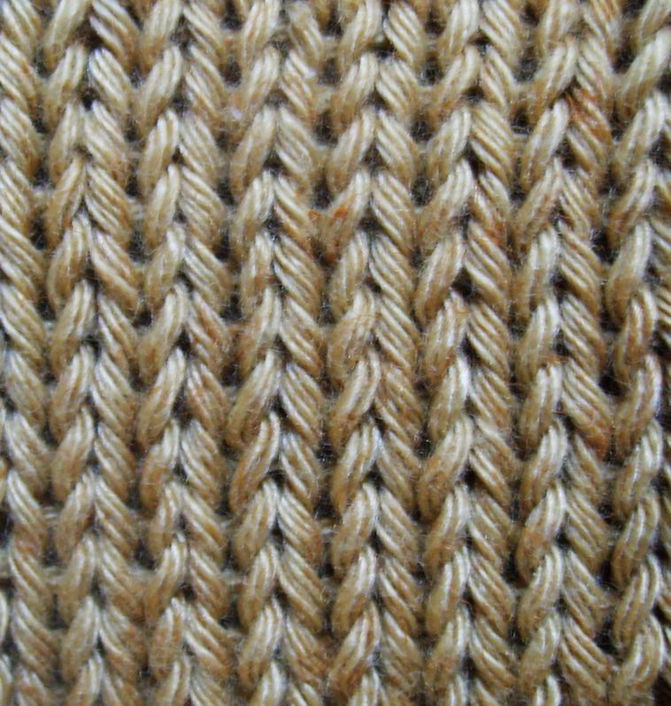 tricoter une maille double a l 39 envers. Black Bedroom Furniture Sets. Home Design Ideas