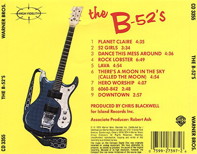 Mes Indispensables # 33: The B 52's - S/T (1979)