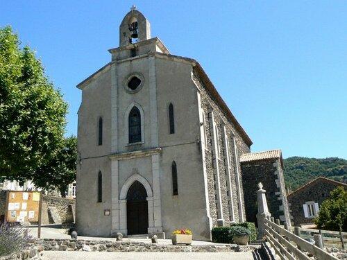 L'église de Darbres