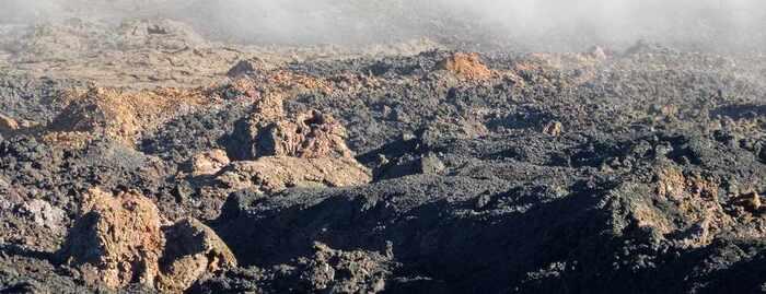 Balade Dans L'Île De La Reunion Voie Lactée Au-Dessus De L'Ile De La Réunion -