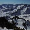 Du sommet du pic Peyreget (2487 m), sierra de la Partacua, Pala de Ip et Collarada