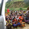 Women victims of war accompanied by PIF EVA Kasika in Mwenga territory in South Kivu