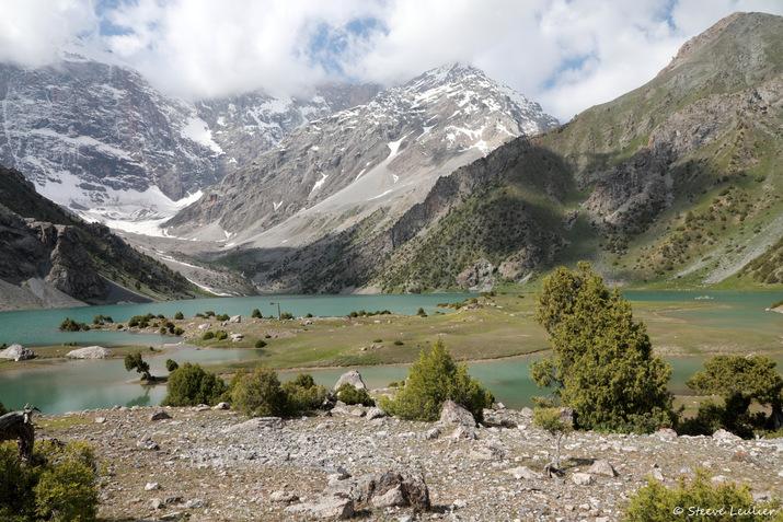 Le grand lac, Tadjikistan