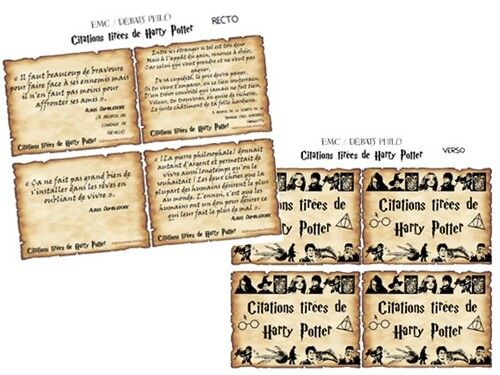 Citations tirées de Harry Potter