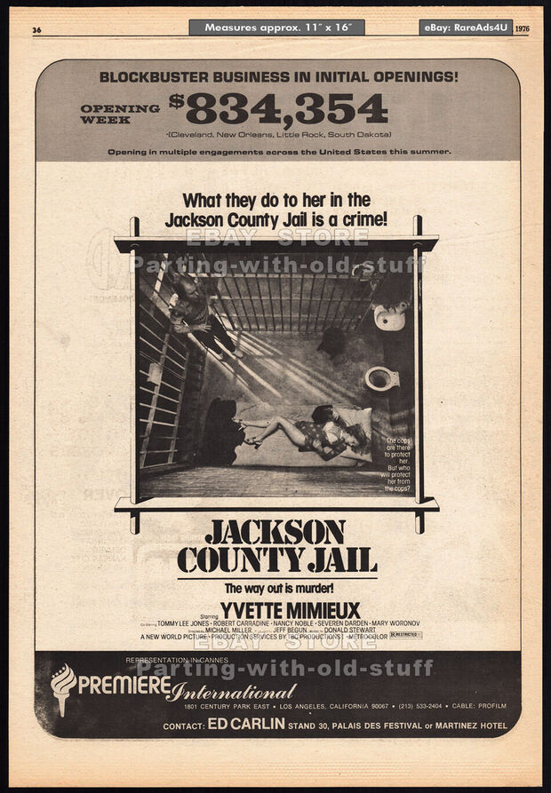 JACKSON COUNTY MAIL BOX OFFICE 1976