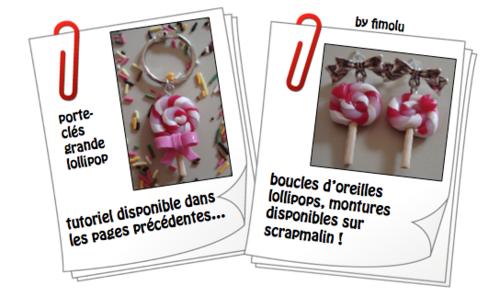 créations 2013-7: encore des lollipops...