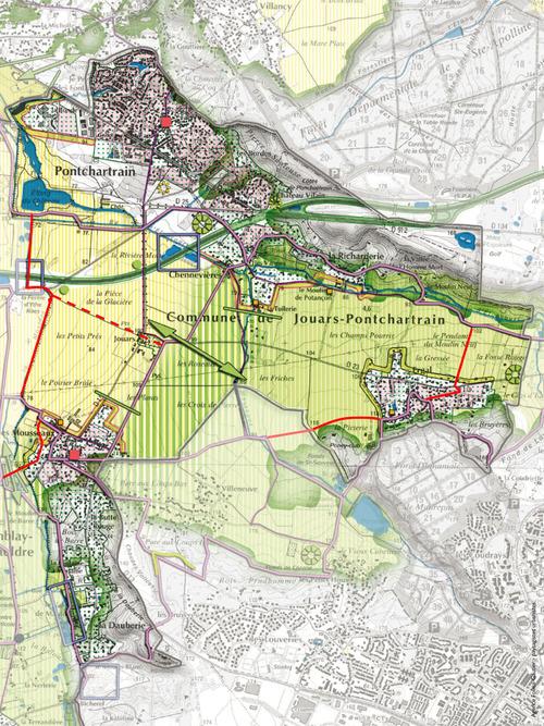 Un réseau de voies douces sur le territoire de Jouars-Pontchartrain