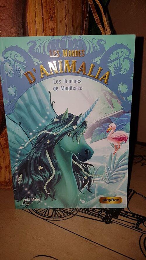 """""""Les mondes d'Animalia T3"""" un joli livre jeunesse illustré sur le thème des licornes avec une jolie morale à la fin"""