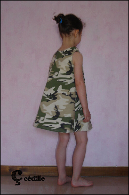 "Une robe ""de guerre"""