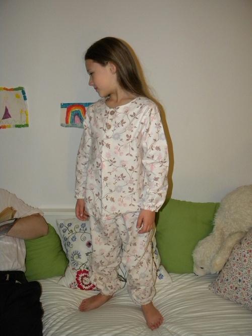 Pyjama pilou porté 1