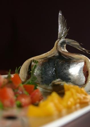 sardines marinées et petits légumes confits 2008